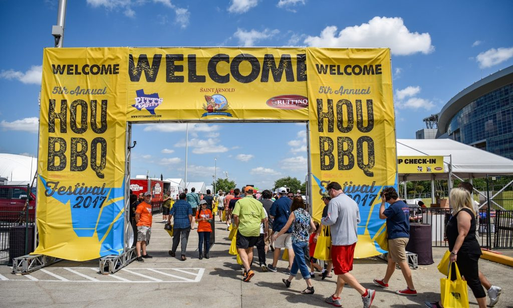Houston Barbecue Festival Gate